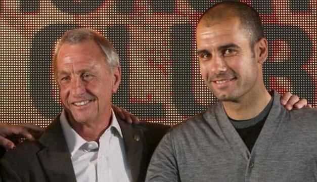 Pep-Guardiola-Johan-Cruyff