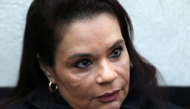 Exvicepresidenta de Guatemala, Roxana Baldetti. EFE