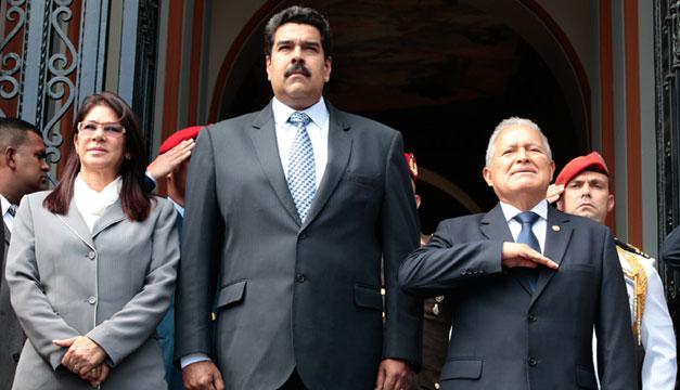 Salvador-Sanchez-Ceren-Nicolas-Maduro