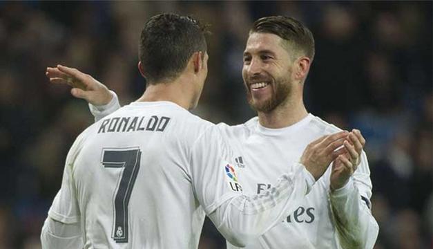 Sergio Ramos-Cristiano Ronaldo