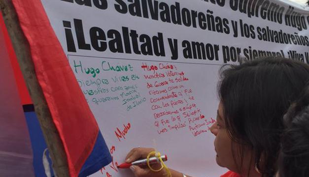 Fotografía tomada de: Embajada de Venezuela en El Salvador.