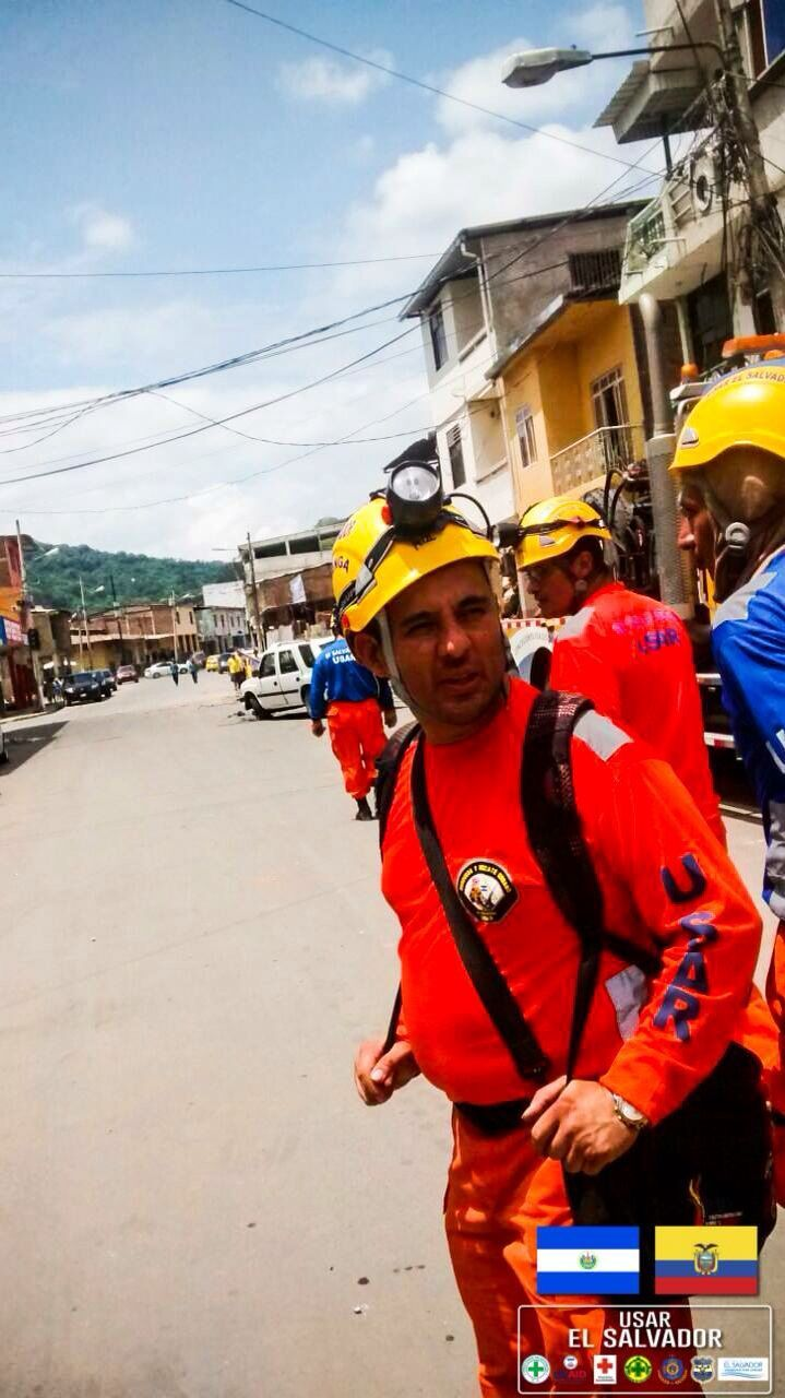 Fotos/Grupo USAR El Salvador