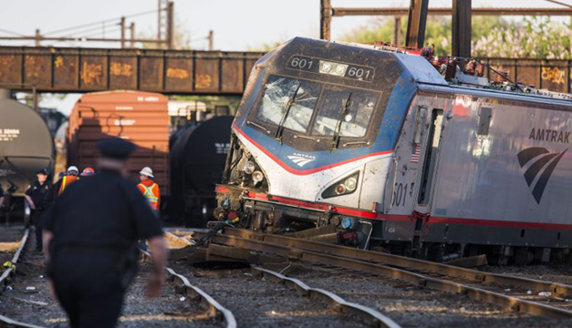 Accidente de tren Filadelfia-EFE