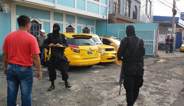 Fotografía de la escena del crimen: Diario El Mundo.