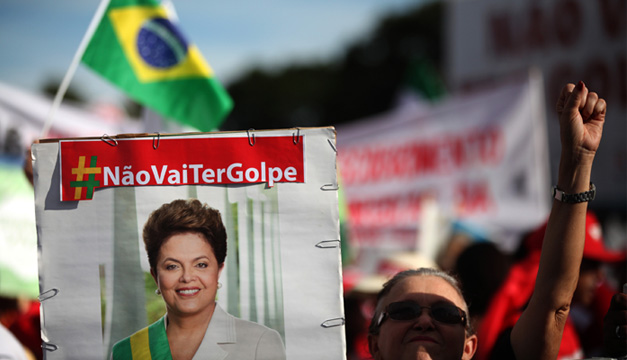 Dilma Rousseff- marchas-EFE