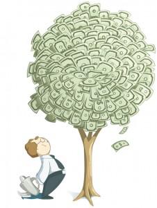 Dinero-arbol-de-dinero-billetes