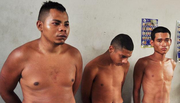 Pandilleros-detenidos