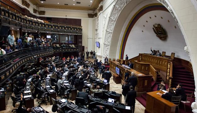 Fotografía: Sesión ordinaria en Parlamento venezolano. Agencia EFE