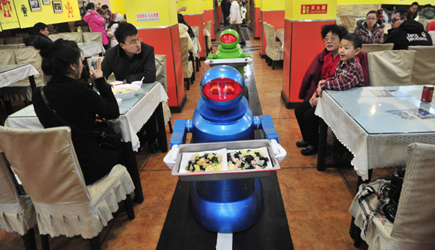 camareros robots-EFE