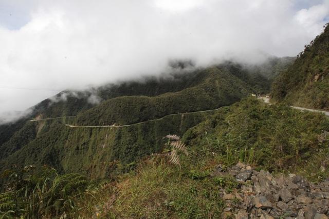 carretera de los Yundas, Bolivia-efe