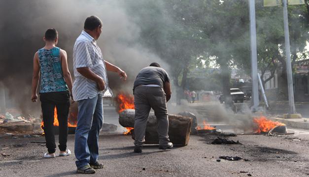 disturbio en venezuela-efe
