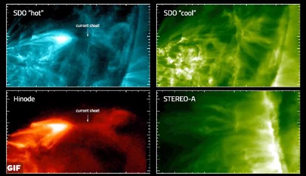 explosion solar-nasa