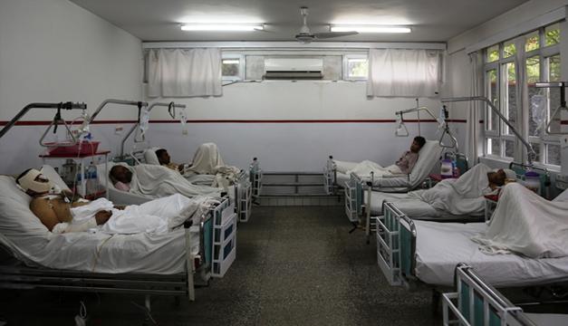 hospital en afganistan-xinhua