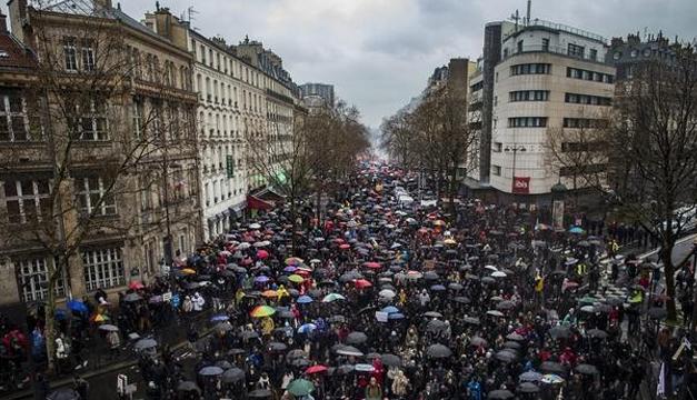 manifestacones en Francia-efe