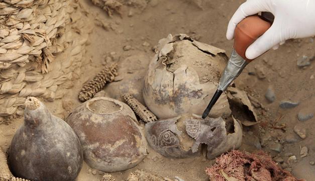 restos arqueologicos en peru-efe