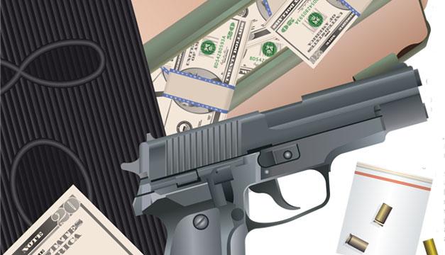violencia-dinero-arma-de-fuego