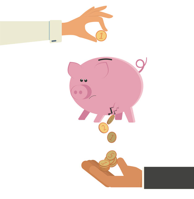 Ahorros-fondos