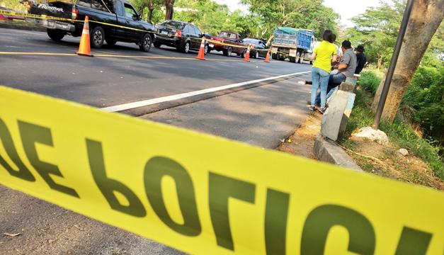 Escena del crimen. Foto: Diario El Mundo.