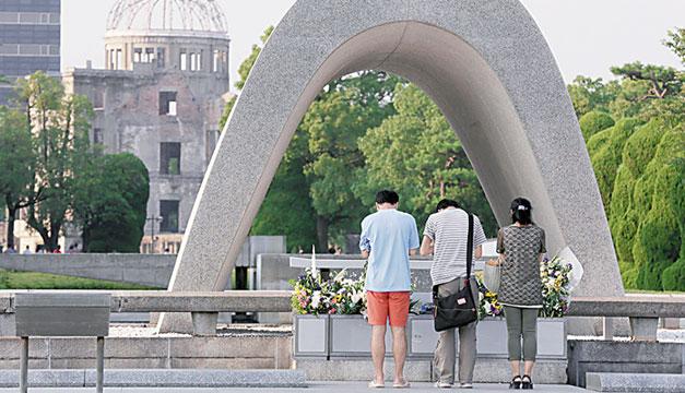 Monumento-a-victimas-de-bomba-atomica