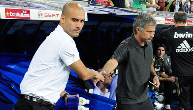 Pep-Guardiol-Jose-Mourinho