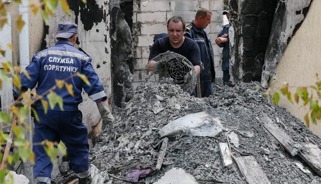 incendio ucrania-EFE