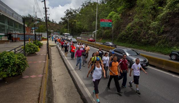 marcha venezuela-efe