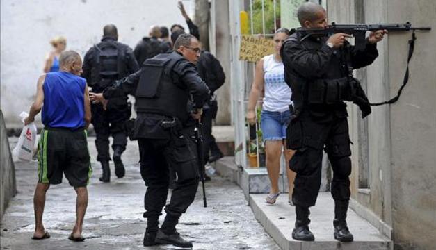 policia de brasil-efe