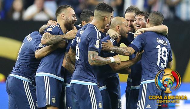 0-4 Argentina golea a EE.UU. y se mete en la final con un Messi de récord