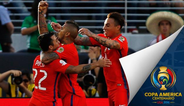 Lo que no viste en la TV del México contra Chile