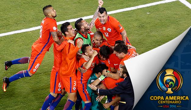 2-4 l Chile se proclama bicampeón de la Copa América en los penaltis