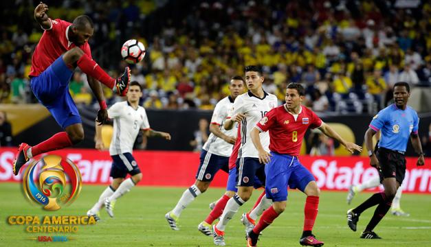 2-3. Costa Rica deja a Colombia segunda y EE.UU pasa como primera del Grupo A