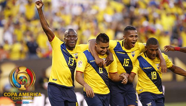 4-0. Ecuador arrasa a Haití y entra en los cuartos