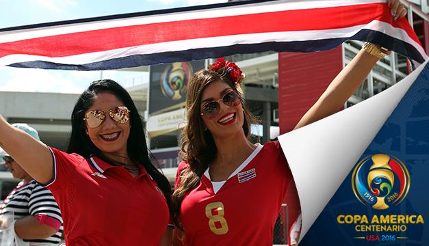 Las bellas aficionadas de la Copa América