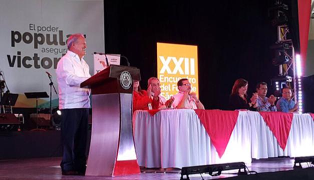 Fotografía tomada de: Cuenta de presidencia.