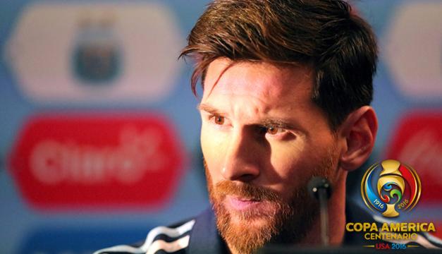 """Para Messi caer ante Chile sería una """"gran decepción"""""""