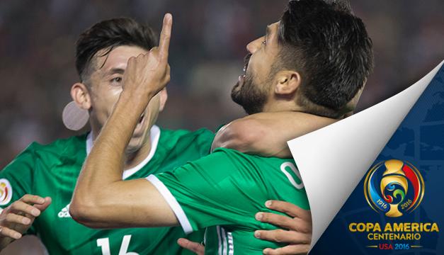 2-0.México pasa a cuartos con Venezuela y deja fuera a Uruguay con su triunfo