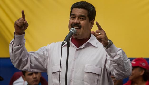 Nicolas Maduro. Agencia EFE