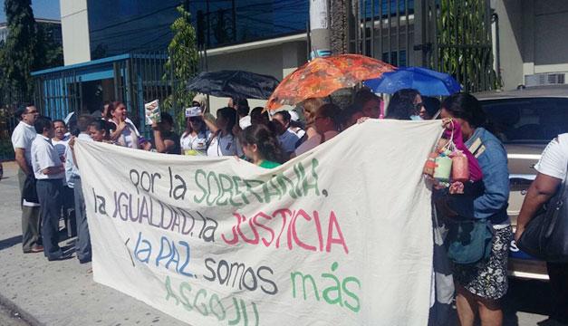 Protesta-PDDH