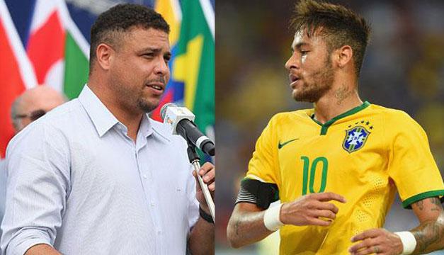Resultado de imagen para ronaldo fenomeno y neymar