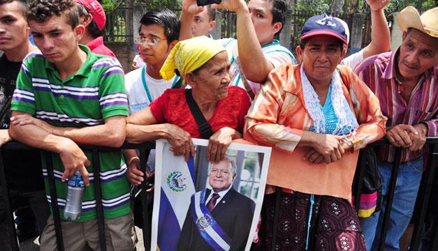 Simpatizantes-FMLN