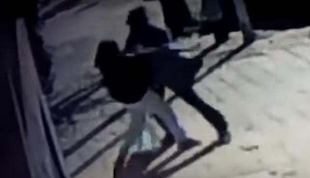 Video de robo de bebé