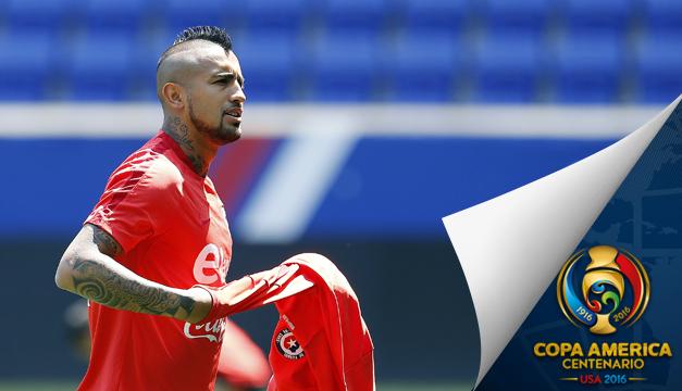 """Vidal: """"Cuando jugamos como sabemos, pasa lo que ocurrió con México"""""""