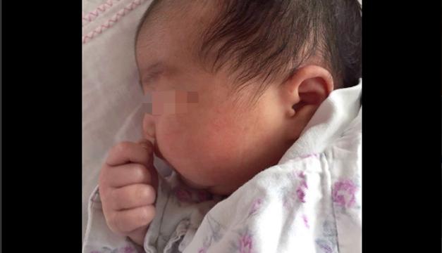 bebe embrion congelado