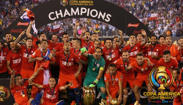 Chile bicampeón