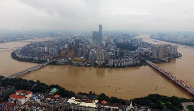 inundacion china-xinhua