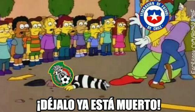Siete memes de la aplastante victoria de Chile sobre México