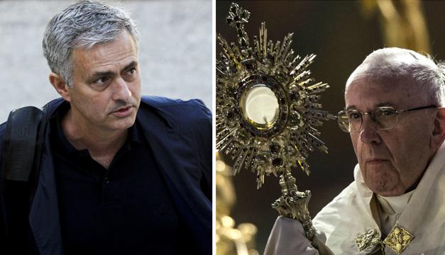 mourinho-papa-francisco