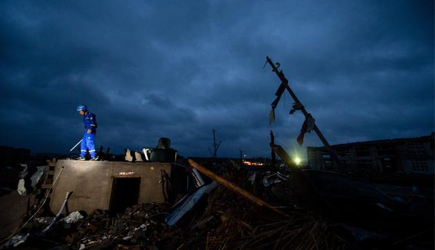 tornado en china-xinhua