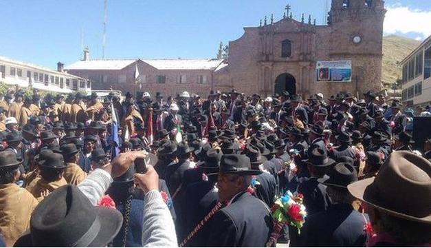 Fotografía tomada del periódico El Comercio, Perú.