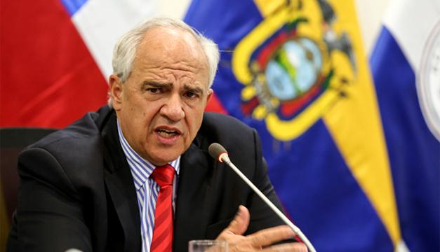 Fotografía: Ernesto Samper, secretario.general de Unasur. EFE